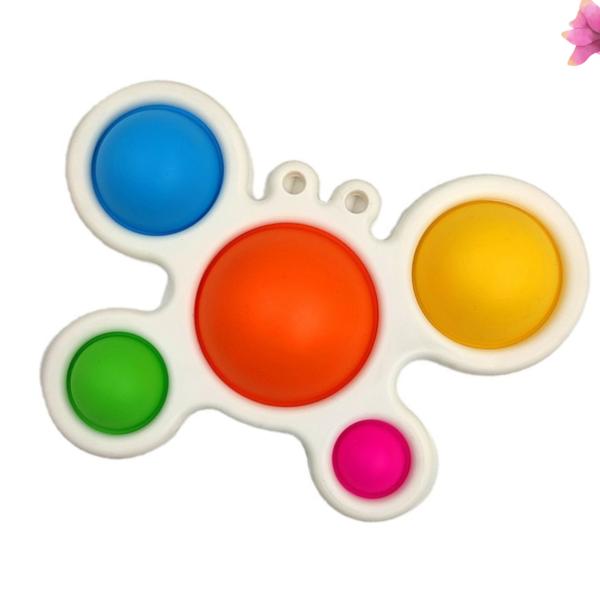 butterfly fidget toy-with-flower